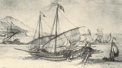 Galères par Pierre Puget- vers 1655