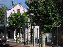 La gare côté quais