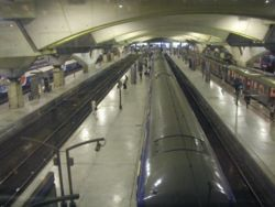 Quais des trains de Banlieue