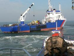 Le nouveau baliseur océanique Gascogne des Phares et balises