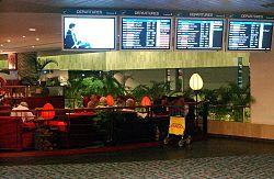 Intérieur de l'aéroport de Singapour