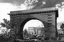 Hôtel de Thélusson, 1778