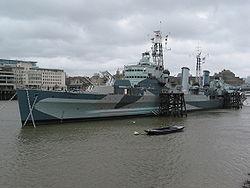 croiseur léger britannique Belfast