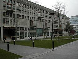 La Halle aux Farines en janvier 2007.