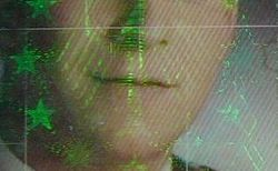 «Hologramme» sur un passeport
