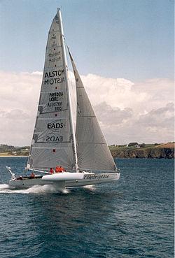 l'Hydroptère d'Alain Thébault