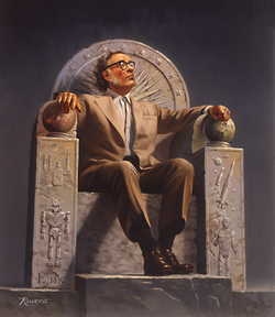 Asimov est considéré par certains comme l' «empereur de la science-fiction[1]»