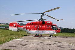 Un Ka-32 de la Heliswiss