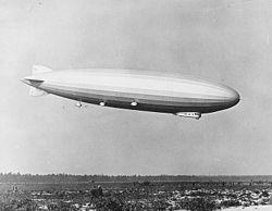 Le LZ 126 atterrissant dans le New Jersey en 1924
