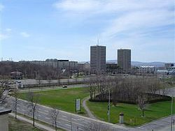 Une partie du campus de l'Université Laval