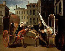 Les Deux Carrosses - Claude Gillot 1707