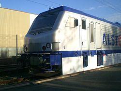 Locomotive Prima fabriquée par Alstom