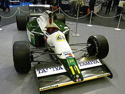 La Lotus 102B utilisée par Mika Hakkinen en 1991