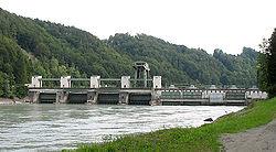 Centrale hydroélectrique en Allemagne