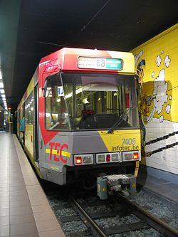 métro léger de Charleroi