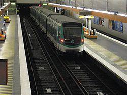 Le MF 2000 en test Porte de Charenton