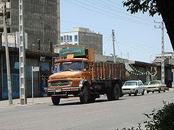 Camion Mercedes Iran Khodro