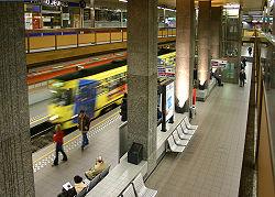 Station de pré-métro De Brouckère à Bruxelles