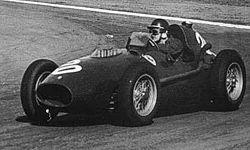 Mike Hawthorn lors du GP d'Argentine 1958