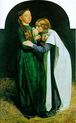 Le Retour de la colombe sur l'arche (The Return of the Dove to the Ark)John Everett Millais, (1851)
