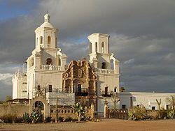 Mission San Xavier del Bac, Arizona, XVIIIe siècle