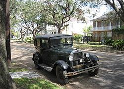 Ford A, Nouvelle-Orléans