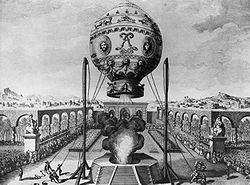 Ascension captive du 19 oct. 1783
