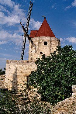 Moulin à vent d'Alphonse Daudet (Alpilles)