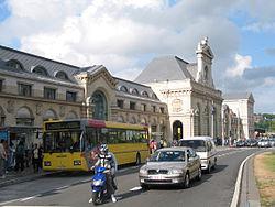 Namur, la gare.