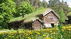 habitat traditionnel, Musée des traditions d'Oslo