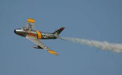 Un F-86 conservé en état de vol en 2003