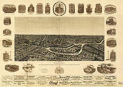 Dallas en 1892