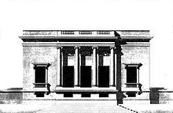 Pavillon de Mme du Barry, Louveciennes, 1770-1771.