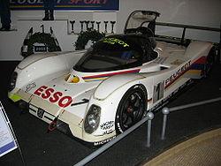 Peugeot 905 LM victorieuse des 24 Heures du Mans 1992 avec Yannick Dalmas, Derek Warwick et Mark Blundell - Musée de l'Aventure Peugeot de Sochaux.