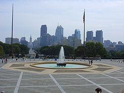 Vue générale de Philadelphie