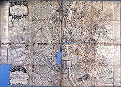 Plan de Paris en 1717, Cahiers de géographie de Saint-Cyr