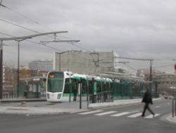 La station du tramway (11/12/06).
