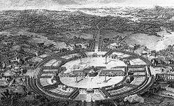 Projet pour la ville de Chaux, autour de la saline royale d'Arc-et-Senans