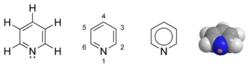 Structures de la pyridine