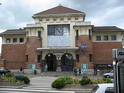 La gare RATP.