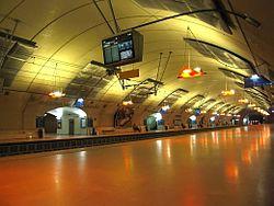 La gare Haussmann - Saint-Lazare