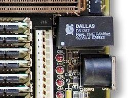 Une horloge temps réel Dallas