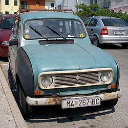 Renault 4 (Croatie)