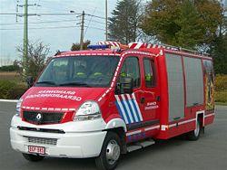 Un Mascott aménagé pour les pompiers