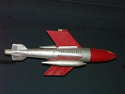 La fusée Kramer X4 (exposée au Deutsches Museum de Munich)