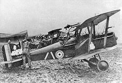 Une escadrille équipée de S.E.5