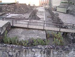 Ruines du Templo Mayor, Tenochtitlan
