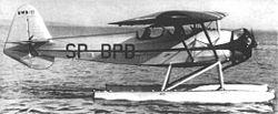Un hydravion polonais RWD-17W