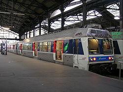 La Z 6534 en livrée Ile de France à Paris St Lazare.