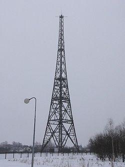 La tour hertzienne de Gliwice est la plus haute structure de bois d'Europe; l'incident à la veille de l'invasion de la Pologne fut un coup d'éclat délibéré pour déclencher la guerre.